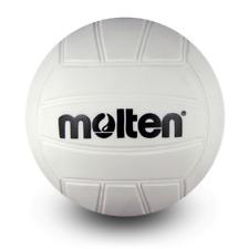 Molten Mini Volleyball White 4-Inch Diameter NEW