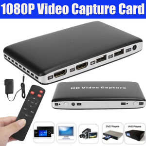 Wireless 1080P Audio Video Capture Card USBHDMI Adapter With Remote Control H264