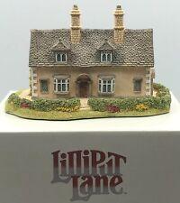 "Lillipute Lane ""Bow Cottage"" Miniature 1992 English Collection Midlands"