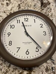 First Time & Co Farmhouse Wall Clock