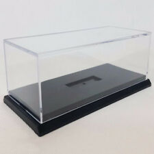 Acrylic Display Case For 1:24 Scale Car W. Black Base For Diecast Model Toy Car
