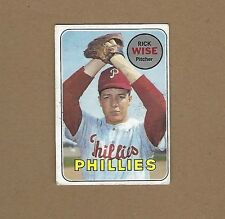 1969 TOPPS RICK WISE BASEBALL CARD #188 FREE SHIPPING