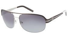 NWT Guess Men's Metal Aviator Gunmetal Sunglasses GU 6790 Z58 66MM