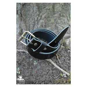 Medieval Earl Plain Belt - Black