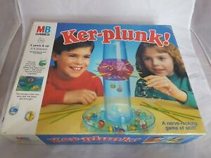 Vintage MB Games 1991 Kerplunk! Marble Game Good Condition