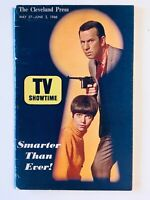 TV Guide 1966 Get Smart Don Adams Barbara Feldon Regional TV Showtime VG COA