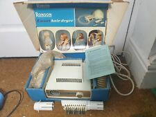 More details for vintage ronson escort hair dryer nails boxed - untested - p1