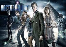 Dr Who A3 repositional cartel de tela 1