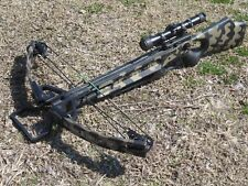 Horton Black Hawk Camouflage Crossbow w/ Bushwacker Scope
