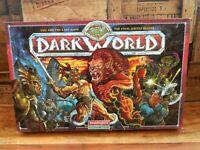 Dark World Board Game - Waddingtons - Complete - Unpainted 1992
