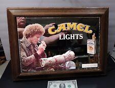 Camel Lights Vintage Lighted Mirror Sign 21 x 15 1/2