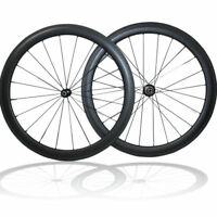Factory Price 700C 50mm depth Clincher Wheelset Road Bike Bicycle Carbon Wheels
