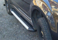 Fits Subaru Forester 2008-2013 Running Boards Side Steps And Bars Black Silver