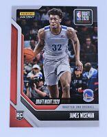 James Wiseman 2020-21 Panini NBA Draft Night 13 Basketball Rookie Card 1 of 2055