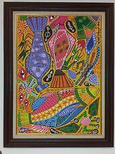 Vintage Luis Quesada Vasconcelos Painting ~ Famous Artist Havana, Cuba ~ 001