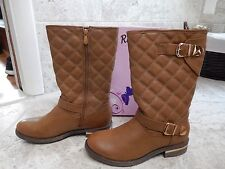 Reneeze Khaki Quilted Kerry Boot Size 8