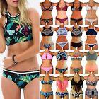 New Hot Women Bandage Push-up Bikini Set Padded Bra Triangle Swimsuit Swimwear F