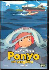 Dvd Ponyo sulla scogliera di Hayao Miyazaki 2008 Nuovo