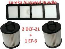Filter Kit Bundle 2 DCF21  EF6 HEPA Exhaust Filter EUREKA Vacuum 68931A, 69963