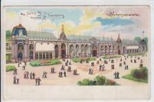 AK Paris, Palais des moyens de Transports, Litho 1900
