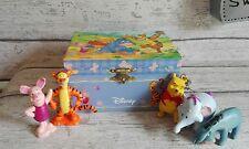 Boîte à musique Disney Winnie the Pool figurine rotative + 5 Figurines Disney