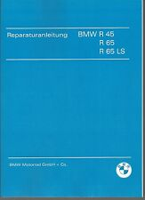 Istruzioni Riparazione/istruzioni BMW R 45 e 65 anche LS; r45 r65 r65ls NUOVO