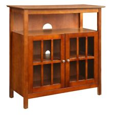 Convenience Concepts Big Sur Highboy TV Stand, Cherry - 8066070CH