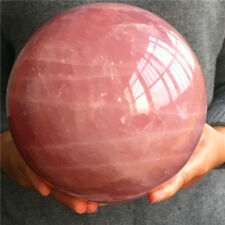 7000g Natural pink crystal rose quartz crystal ball to heal (17cm)