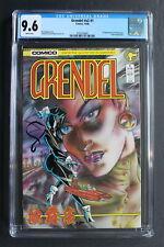 GRENDEL #1 1st CHRISTINE SPAR Female Grendel 1986 Comico Devil Response CGC 9.6