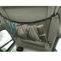 Durable Car Cargo Net Organizer Top Travel Quilt Tent  Ceiling Mesh  Storage Bag