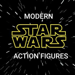 Modern Star Wars Action Figures All Characters (Hasbro, 1998-Present) YOU CHOOSE