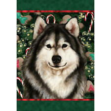Alaskan Malamute Holiday Treats Flag