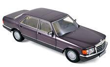 1:18 MERCEDES-BENZ 560 SEL W126 Classe S LIMOUSINE 1986-91 Bornit métallique