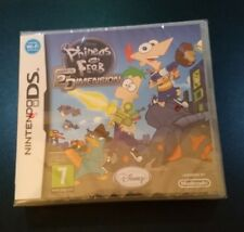 PHINEAS AND FERB ACROSS THE 2ND DIMENSION NINTENDO DS NDS NEW & SEALED! FREE P&P