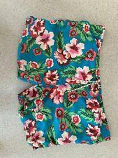 Mens Boden Floral Beach Shorts SizeXL