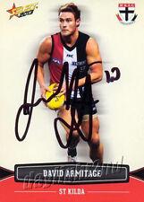 ✺Signed✺ 2013 ST KILDA SAINTS AFL Card SAM FISHER