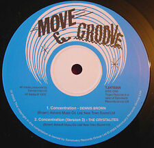 """Dennis Brown Concentration/Changing Times 10"""" Roots NEW Trojan Crystalites VINYL"""