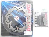 BRAKING KIT DISCO FRENO POSTERIORE + PASTIGLIE PER TMAX T MAX T-MAX 500 2008