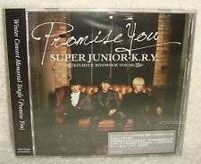 SUPER JUNIOR K.R.Y Promise You Taiwan CD only -Normal Edition-
