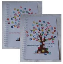 Festzeitung Schulanfang Einschulung # Buchstabenbaum Geschenk 1. Schultag Deko