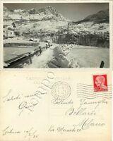 Cartolina di Cortina d'Ampezzo, panorama - Belluno, 1936