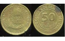 PEROU  50 centimos 1986