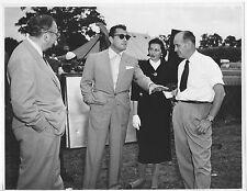 IVANHOE original 1952 on the set photo CYD CHARISSE/TONY MARTIN/RICHARD THORPE