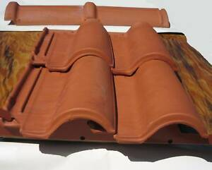 Roof Tiles Spanish S Clay  1 Square / 124 Roof Tiles