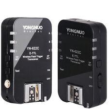 YONGNUO Transceiver YN622C YN-622C trigger TTL Flash Trigger with HSS for Canon