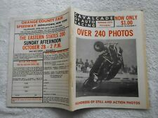 CAVALCADE OF AUTO RACING-SUMMER,1973 PICTORIAL