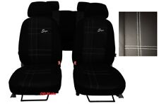 Universal Eco-Leather Full Set Car Seat Covers VW Golf / Jetta / Passat