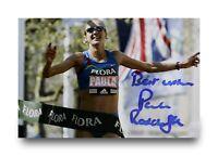 Paula Radcliffe Signed 6x4 Photo Marathon Runner Autograph Memorabilia + COA