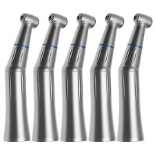 5x Dental Slow Speed Contra Angle Push Button Handpiece Internal Spray Fit Kavo