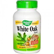 White Oak Bark, 480 mg, 100 Capsules - Nature's Way